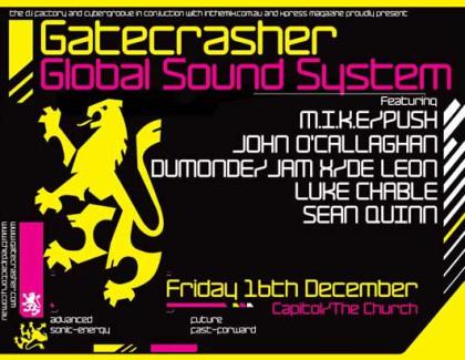 Gatecrasher Global Sound System
