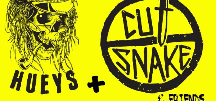 The Mad Hueys featuring Cut Snake – Sat Nov 29, Bali