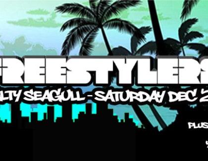 The Freestylers – Saturday Dec 27, Salty Seagull Seminyak